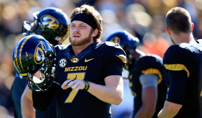 Illustration for article titled Missouri Suspends QB Maty Mauk After Video Of Him Allegedly Doing Coke Surfaces