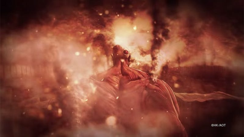 Illustration for article titled Koei Tecmo's Attack on Titan Won't be Another DynastyWarriors Game