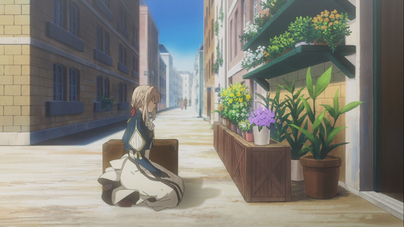 Illustration for article titled A Love Letter to Writers in Violet Evergarden