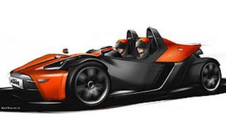 Illustration for article titled No Compromises: KTM's X-Bow to Drop in on Geneva