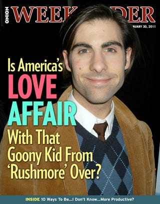 Illustration for article titled Is America's Love Affair With That Goony Kid From 'Rushmore' Over?