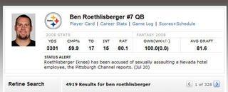 Illustration for article titled ESPN Breaks Its Silence On Ben Roethlisberger
