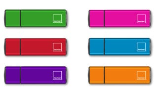 Illustration for article titled Color-Match Your USB Sticks to Your Other Pantone Tat