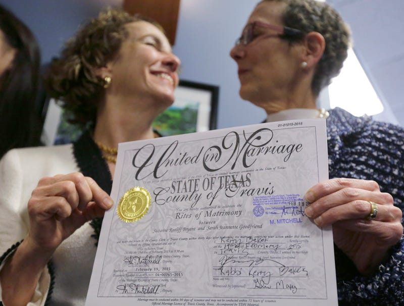 Illustration for article titled Texas Just Had Its First Legal Gay Wedding, State Still Throwing Tantrum