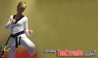Illustration for article titled New Taekwondo uniform for women brings in sexiness where none is needed