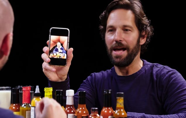 Paul Rudd reveals his greatest talent: Making every photo look like it has a butt