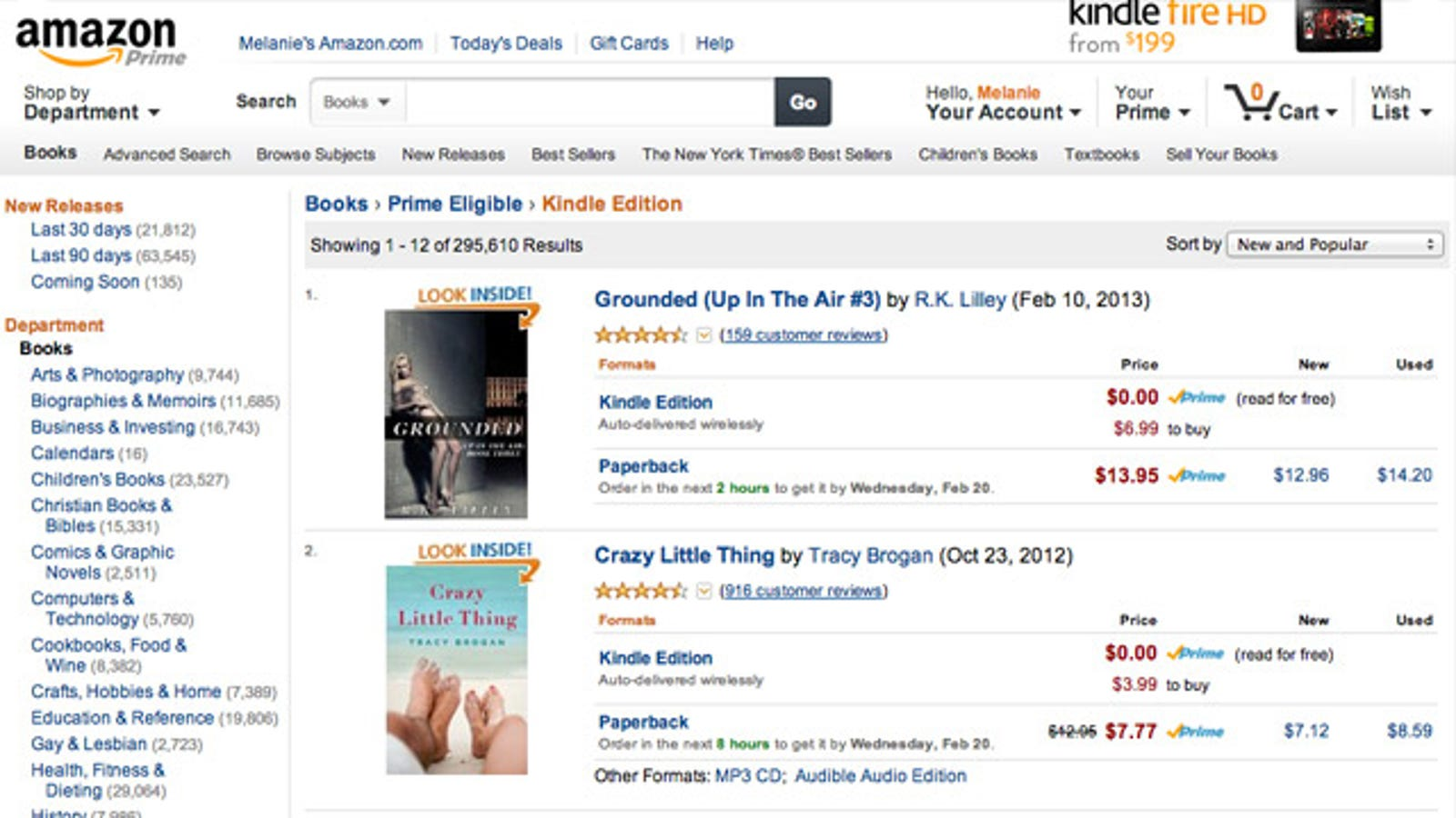 How to View the Entire Free Kindle Lending Library from Your
