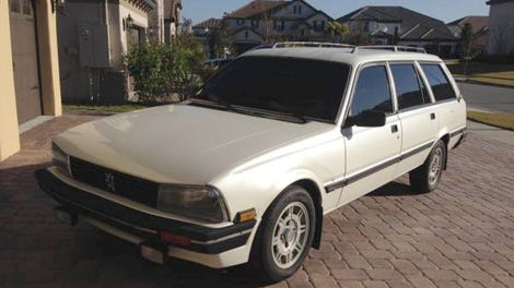 For 13 000 Could This 1982 Peugeot 504 Diesel Wagon Be A Bodacious