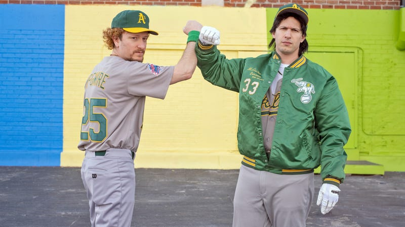 Illustration for article titled The Lonely Island's Bash Brothers deliver major-league audacity in a minor-league package