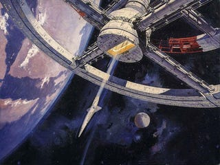 Illustration for article titled The Smithsonian Museum Has An Early Draft Of Arthur C. Clarke's 2001
