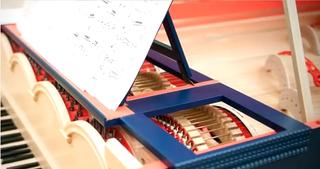 Illustration for article titled Así suena el instrumento que Da Vinci nunca llegó a fabricar