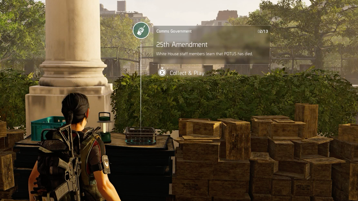 The Division 2's President Has A Different Concern About The U S