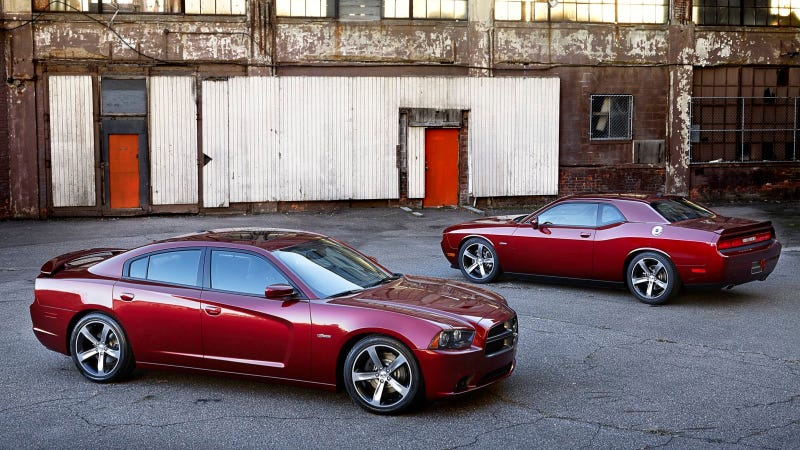 Illustration for article titled Limited-Edition Charger And Challenger Models Commemorate 100 Years Of Dodge Performance And Heritage