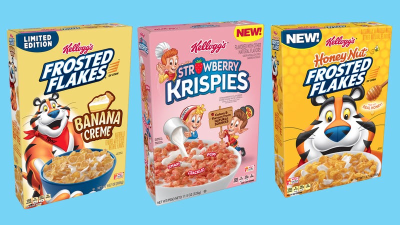 Illustration for article titled Are Kellogg's new Frosted Flakes and Rice Krispies spinoffs worthy of the originals?