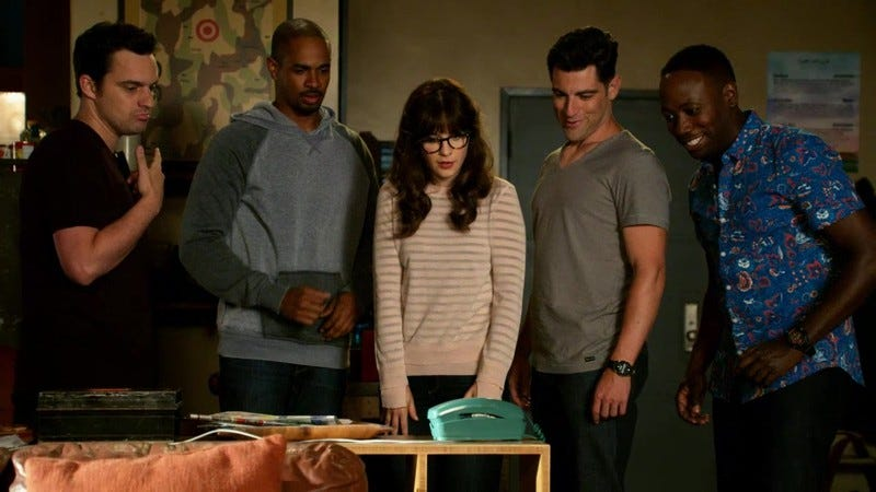 Illustration for article titled New Girl renewed for fifth season of no longer being new or just about a girl