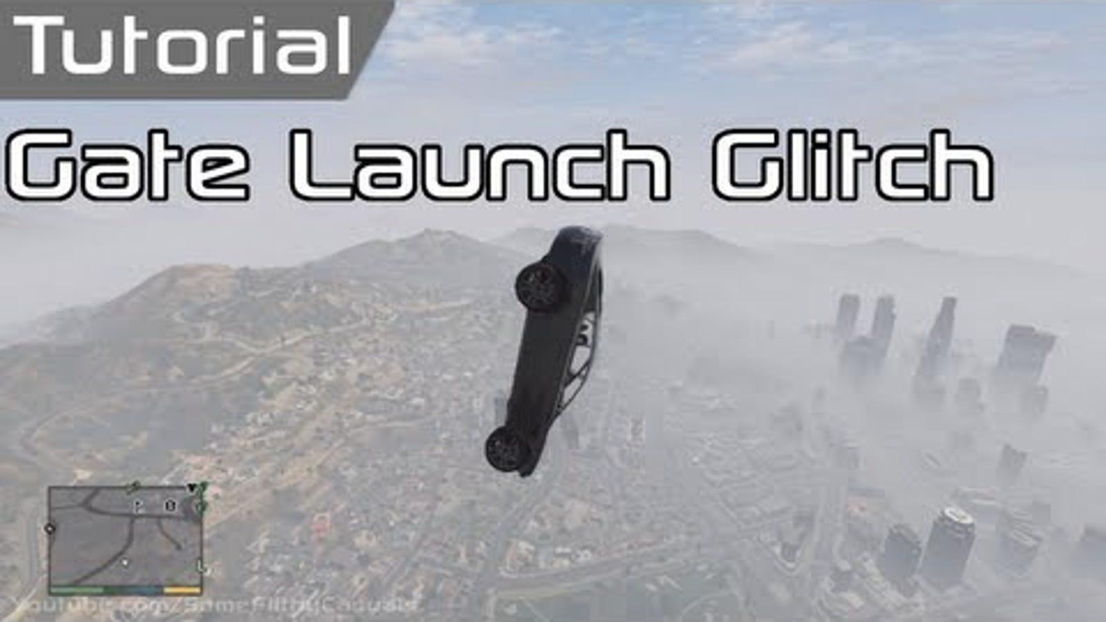 GTA V Gate Is A Secret Car Catapult