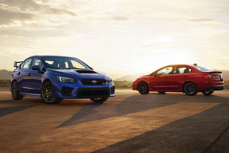 Illustration for article titled Subaru's Performance Cars are More Stale than Nissan's