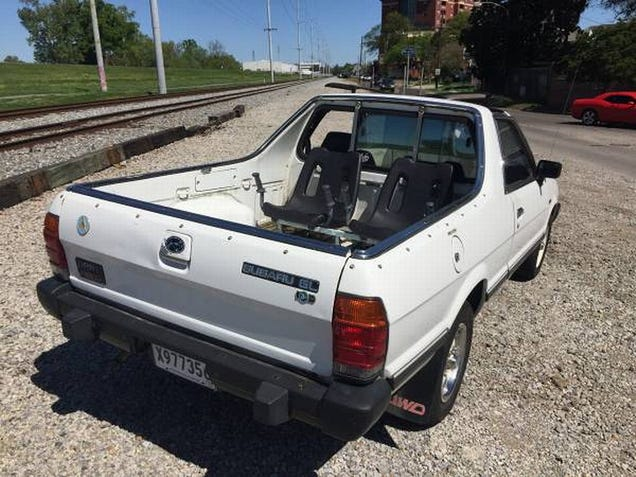 for 5 200 you could pickup this 1986 subaru brat. Black Bedroom Furniture Sets. Home Design Ideas