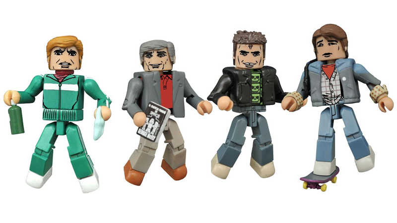 Illustration for article titled Go Back To 1985 With These Awesome Back To The Future Minimates
