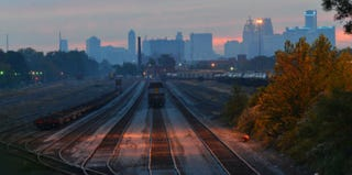 Detroit's City Rail Yard (Flickr/Getty Images)