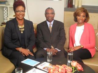 Harriette Cole, the Rev. DeForest B. Soaries Jr. and Erin ShellyHarriette Cole Media