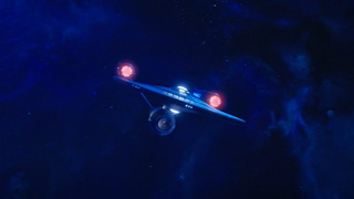 The Enterprise as it's featured in Discovery