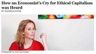 Illustration for article titled Capitalism Isn't A Love Story: Noreena Hertz & The New World Order