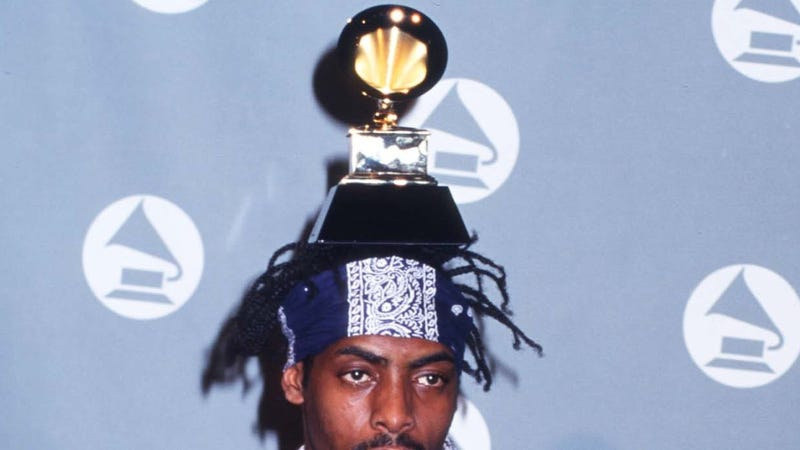 Coolio and his Grammy are extremely disappointed. (Photo: Russell Einhorn/Getty Images)
