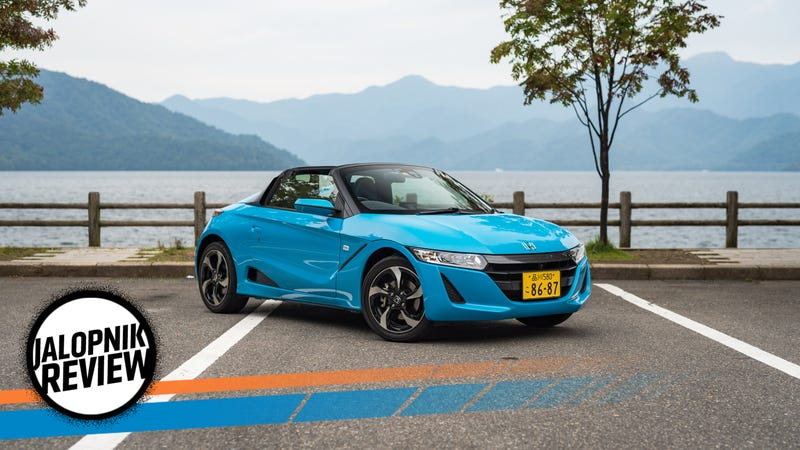 The Honda S660 Is Most Fun You Can Have At 25 MPH