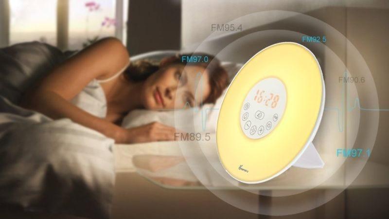 Luz despertador Vansky, $24 con código YUMCIIOB