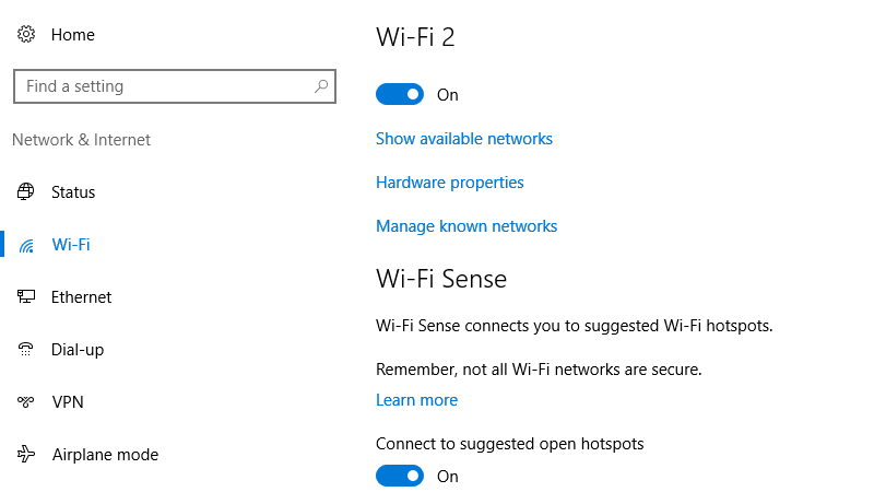 Windows 10 Can Automatically Turn Wi-Fi Back On After a Few Hours