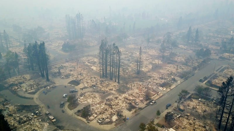 Why This Week S Northern California Fires Have Been So Brutal