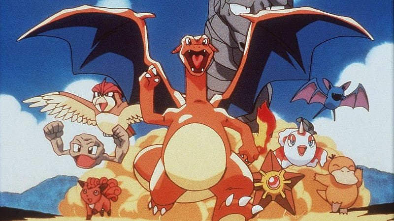 No footage or screenshots of the upcoming game are available, so enjoy this promotional art from Pokemon: The First Movie (Photo: Getty Images)