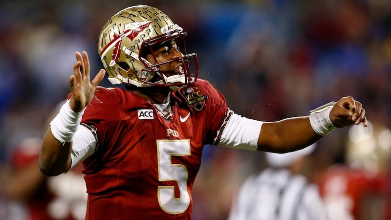 """Illustration for article titled Heisman Voter Already Made Up His Mind On Jameis Winston's """"Integrity"""""""