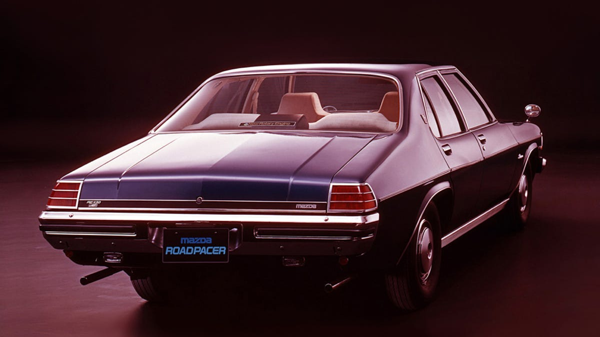 The Mazda Roadpacer Was A Big Holden With A Rotary Engine For Some ...