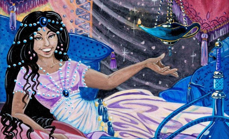 Illustration for article titled Alguien ha pagado más de 70.000 dólares por la ilustración de una carta deMagic: The Gathering