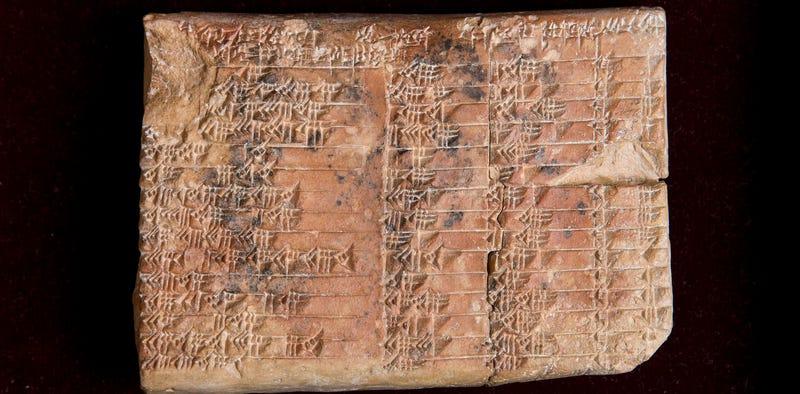 Illustration for article titled Una tablilla de 3700 años revela que los babilonios, y nos los griegos, descubrieron la trigonometría