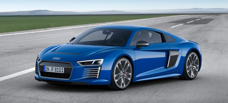 Audi R ETron This Is Audis HP Electric Supercar Future - Audi i8