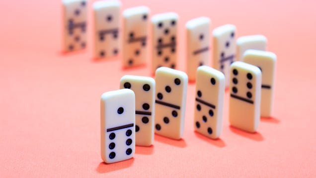 Create a Chain Reaction of Good Habits With the Domino Effect