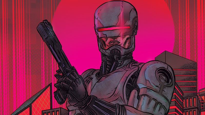 Image: Boom Studios. RoboCop: Citizens Arrest #1 Variant Cover by David Rubin.