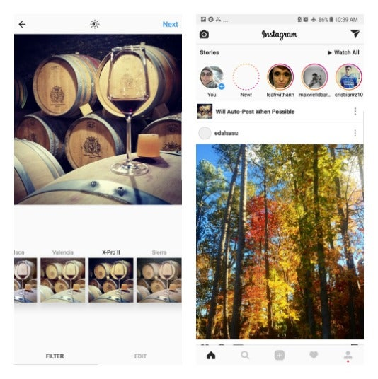 How to Use Instagram's Filters Without Posting Your Photo