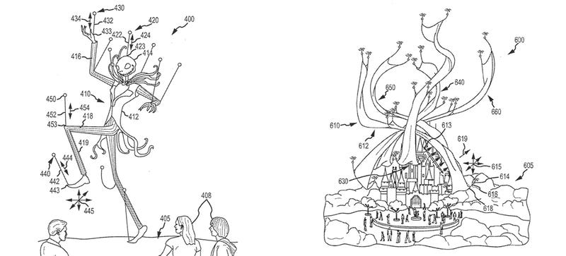 Illustration for article titled Forget Hot Air: Disney Parade Floats Could Soon Fly Under Drone Power