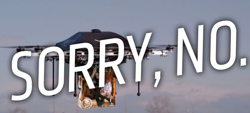 Illustration for article titled FAA Nixes Drone-Based Delivery Before It Even Gets Off The Ground