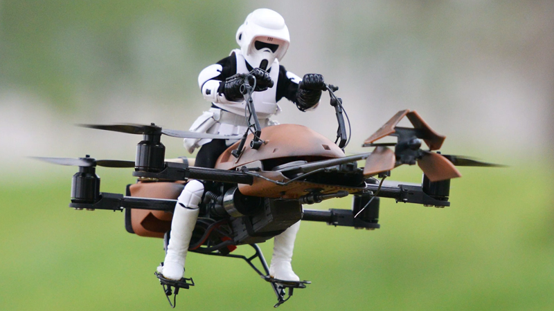 Illustration for article titled The Next Star Wars Movie Has Recruited a Team of Drones to Protect Its Secrets