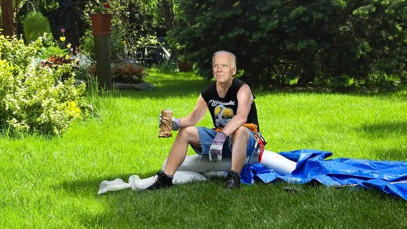 Biden Lines Up Sweet Summer Gig Installing Above Ground