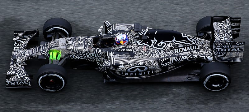 Illustration for article titled How Tightly Packaged Is Red Bull's 2015 F1 Car?