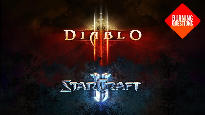 Illustration for article titled Why Do We Love StarCraft II More Than Diablo III?