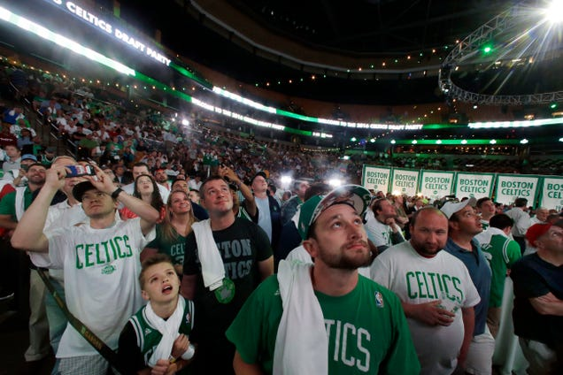 The Celtics' Draft Night Was A Whole Lot Of Nothing