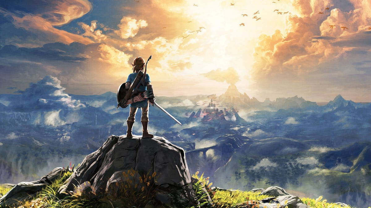 Here's Breath Of The Wild Running On A PC