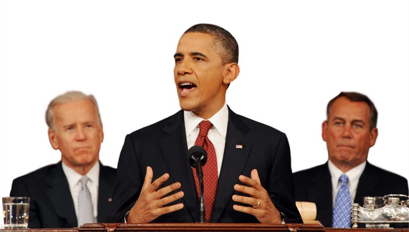 Illustration for article titled Obama's State Of The Union Address